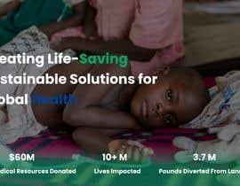 Mahesh986 tarafından WordPress photo/home page info layout assistance (for global aid organization) için no 22