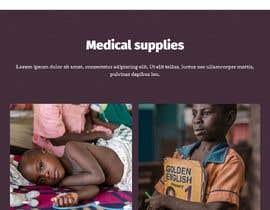 moriom2 tarafından WordPress photo/home page info layout assistance (for global aid organization) için no 5