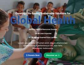 armansheikh2320 tarafından WordPress photo/home page info layout assistance (for global aid organization) için no 14