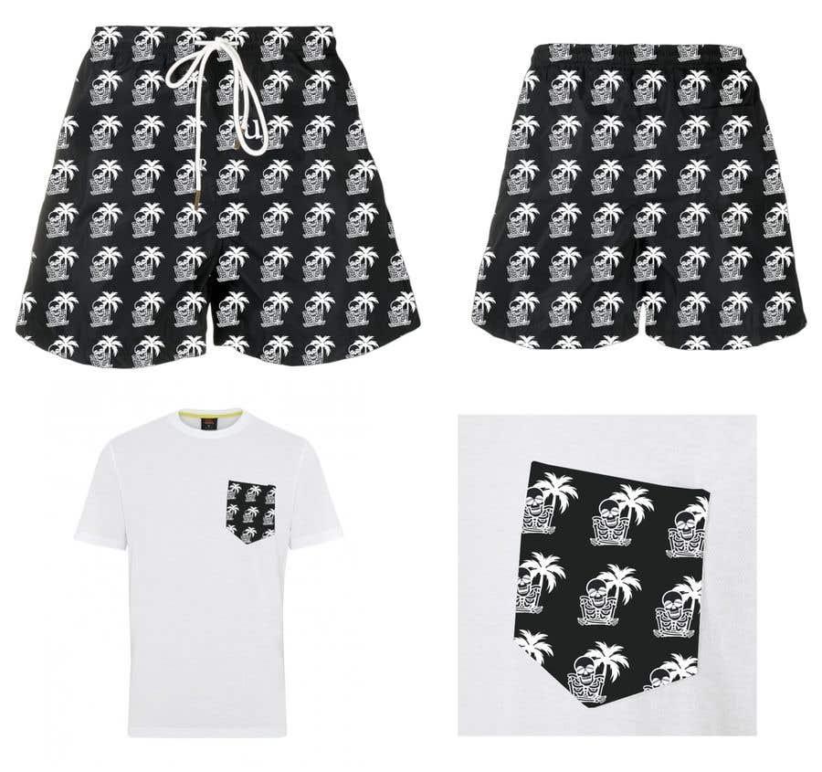 Bài tham dự cuộc thi #                                        72                                      cho                                         Mens swim suit with pocket shirt matching design!