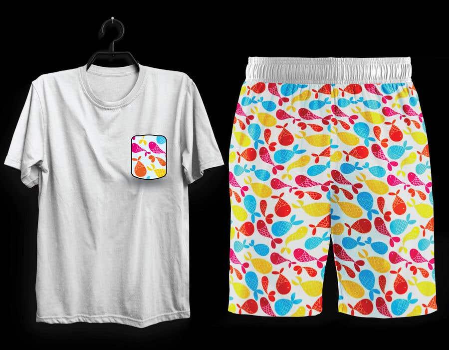 Bài tham dự cuộc thi #                                        67                                      cho                                         Mens swim suit with pocket shirt matching design!