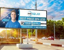 Nro 47 kilpailuun Billboard Ideas Solar käyttäjältä ssandaruwan84