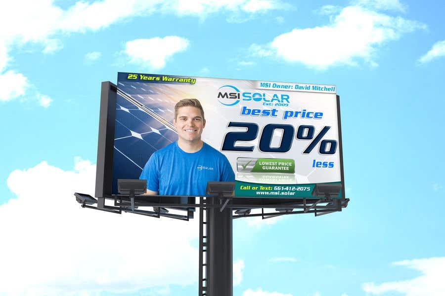 Kilpailutyö #                                        61                                      kilpailussa                                         Billboard Ideas Solar