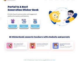 #26 for Help design EZ Stickerbook WordPress site by Alinasehabidi