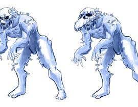 #20 for Concept art for a monster af jibinjolly47