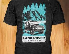 #122 untuk T-Shirt Land Rover Defender 90 design oleh asifhassansabbir