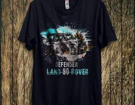 #143 untuk T-Shirt Land Rover Defender 90 design oleh taukirtushar