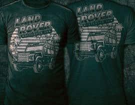 #159 untuk T-Shirt Land Rover Defender 90 design oleh mstmurshida