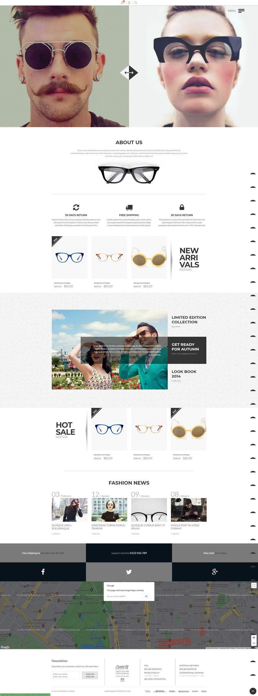 Konkurrenceindlæg #                                        19                                      for                                         Design an online shopping page for my website