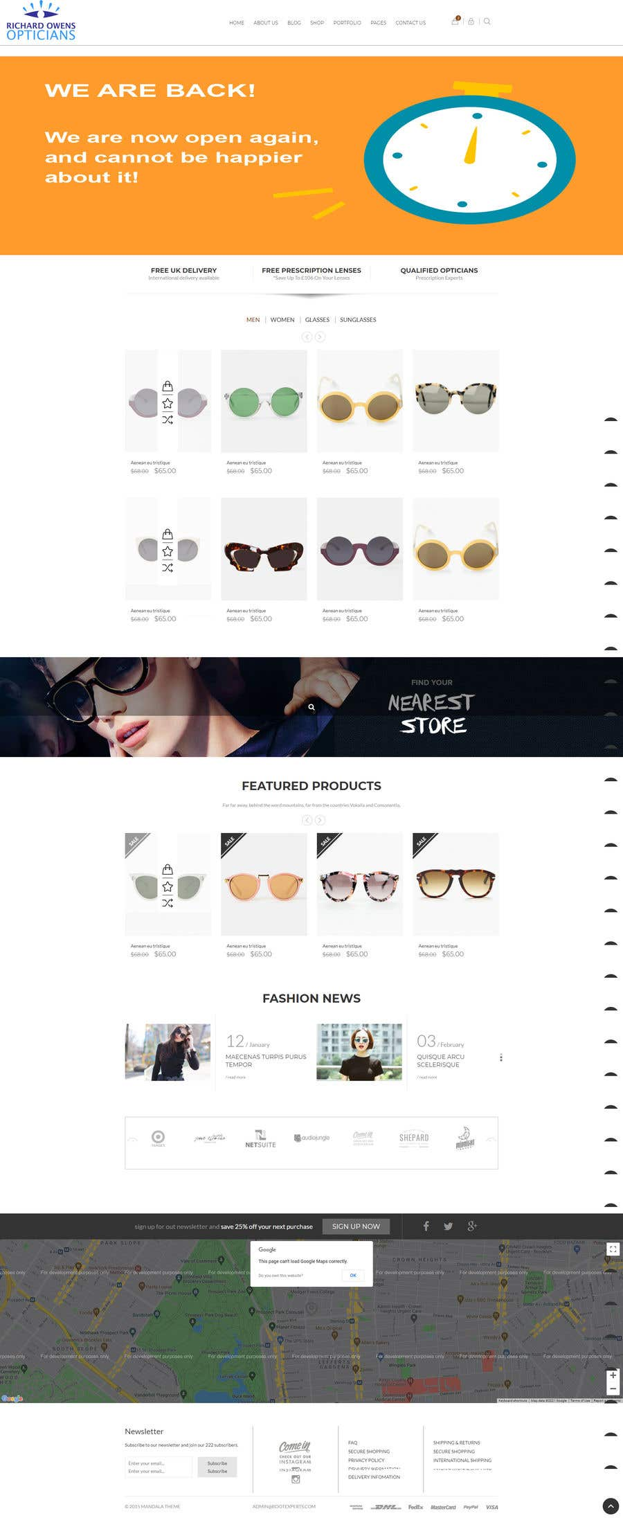 Konkurrenceindlæg #                                        24                                      for                                         Design an online shopping page for my website