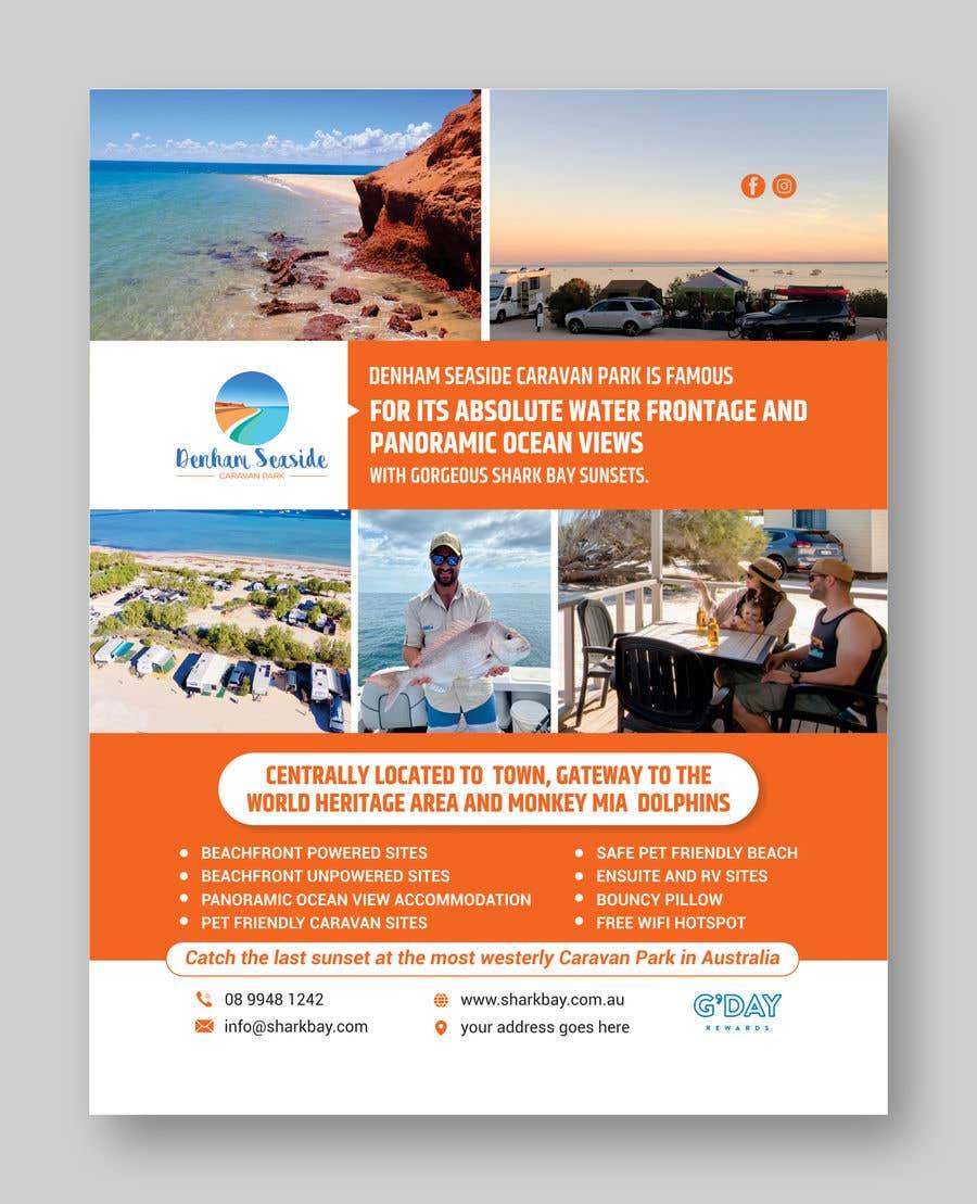 Bài tham dự cuộc thi #                                        43                                      cho                                         Design a Magazine Advertisement for Denham Seaside Caravan Park - 16/06/2021 02:48 EDT
