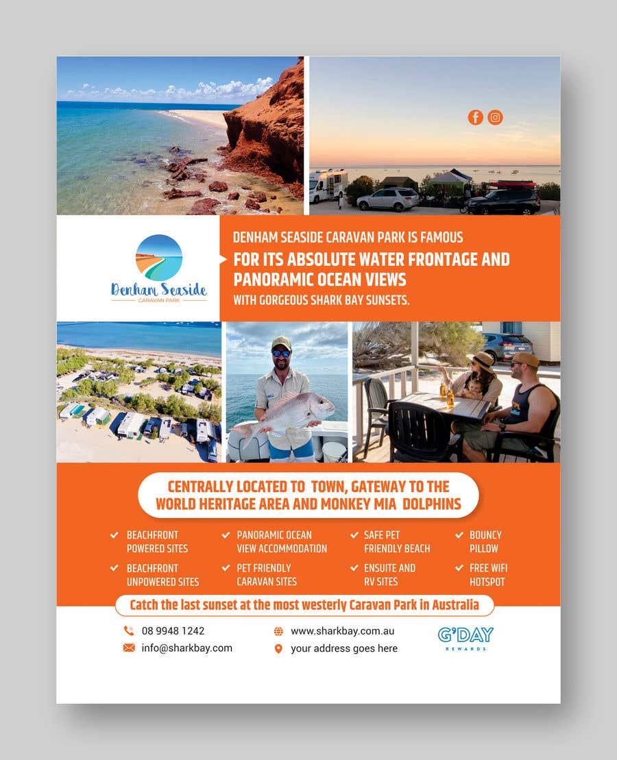 Bài tham dự cuộc thi #                                        45                                      cho                                         Design a Magazine Advertisement for Denham Seaside Caravan Park - 16/06/2021 02:48 EDT