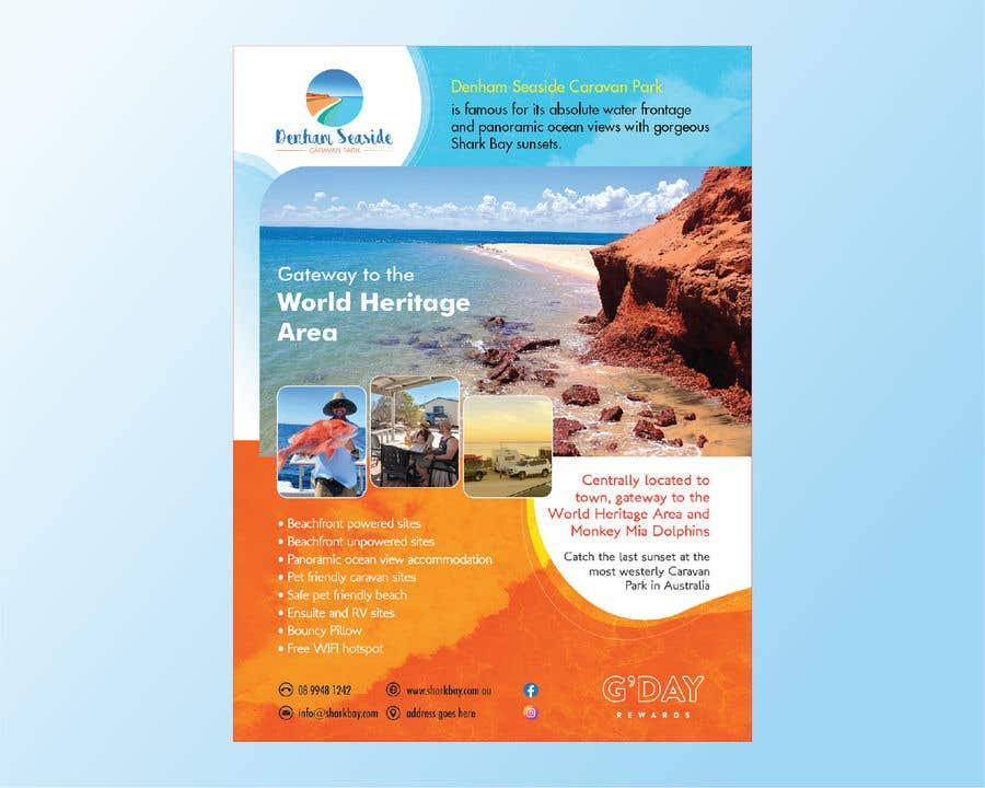 Bài tham dự cuộc thi #                                        34                                      cho                                         Design a Magazine Advertisement for Denham Seaside Caravan Park - 16/06/2021 02:48 EDT