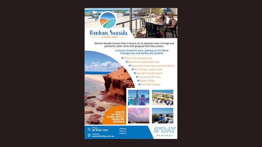Bài tham dự cuộc thi #                                        52                                      cho                                         Design a Magazine Advertisement for Denham Seaside Caravan Park - 16/06/2021 02:48 EDT