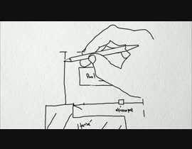 nº 15 pour 2 x animated black and white sketch videos par nnndaru