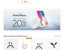 Nro 27 kilpailuun Ecommerce website design mock-up käyttäjältä PranavSandilya