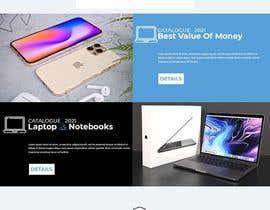 Nro 58 kilpailuun Ecommerce website design mock-up käyttäjältä chatHerali