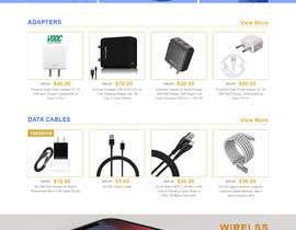 Nro 49 kilpailuun Ecommerce website design mock-up käyttäjältä graphymehfooz