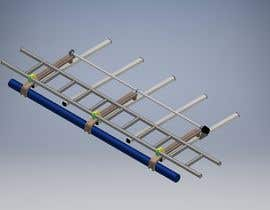Nro 7 kilpailuun Design a custom roof-rack attachment for a ladder käyttäjältä SHERIFELSHEIKH51
