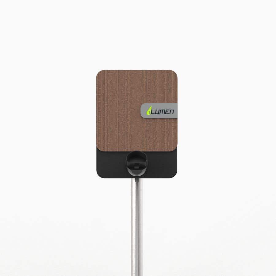 Kilpailutyö #                                        17                                      kilpailussa                                         3D design of charging point for a Electric Vehicule