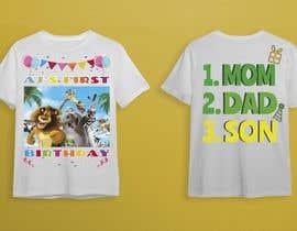 Nro 77 kilpailuun Tshirt design kids party käyttäjältä mhdhasan1