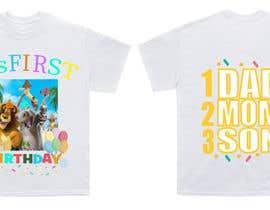Nro 74 kilpailuun Tshirt design kids party käyttäjältä FAHMIDANUR2411