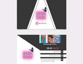 Nro 144 kilpailuun business card design for nails gene käyttäjältä fahimabegum