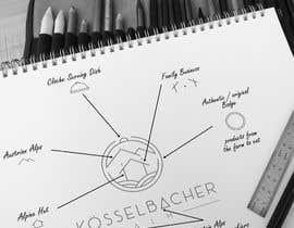 nº 1451 pour Logogestaltung für ein Almrestaurant / Almhütte in Österreich par RED1Designer