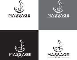 Nro 183 kilpailuun Logo design and Name for Massage application käyttäjältä akterlaboni063