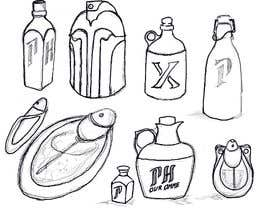 #33 для Draw a custom bottle design for a new perfume line collection от LuisAntola