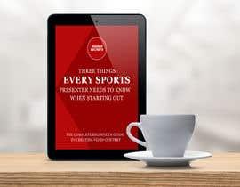 Nro 54 kilpailuun Design Cover for Slim Book - Free guide for beginner sports presenters käyttäjältä fatemaakterkeya1