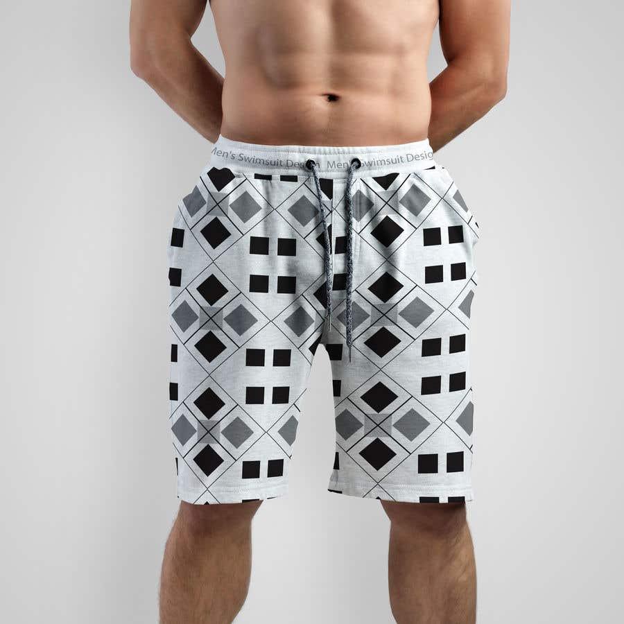 Kilpailutyö #                                        13                                      kilpailussa                                         Men's Swimsuit Design