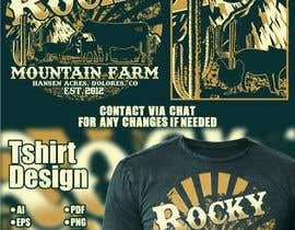 Nro 362 kilpailuun Design a Western T-Shirt with our Cattle Brand käyttäjältä Maxbah