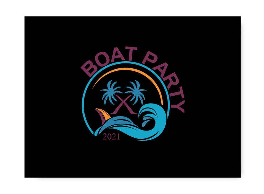 Kilpailutyö #                                        113                                      kilpailussa                                         BoatParty X Logo Design
