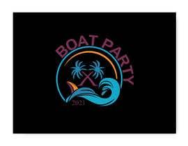 Nro 113 kilpailuun BoatParty X Logo Design käyttäjältä KleanArt