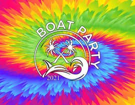 Nro 226 kilpailuun BoatParty X Logo Design käyttäjältä KleanArt