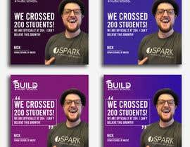 #201 para Design Template for Social Proof Marketing por rakibrocks893
