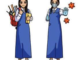 #100 untuk Characters for school ( animation ) oleh StellaJ123