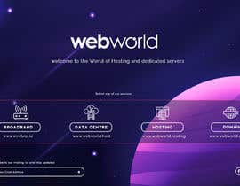 #154 for Creative landing page for hosting company by stylishwork