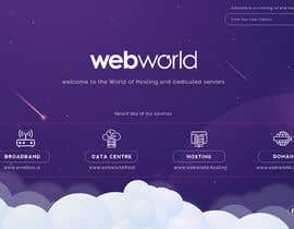 #155 for Creative landing page for hosting company by stylishwork