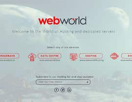 #173 for Creative landing page for hosting company by stylishwork