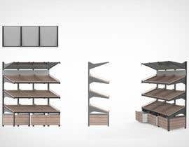 #6 para Stages 3 : Crowdsource / Designing a display rack for fruit and vegetable por FineViz