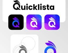Nro 522 kilpailuun Design LOGO / APP ICON & LOGOFONT for Quicklista App käyttäjältä Fezy11
