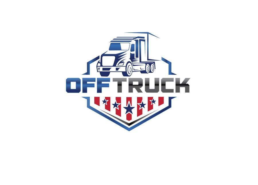 Kilpailutyö #                                        25                                      kilpailussa                                         New logo for OFFTRUCK