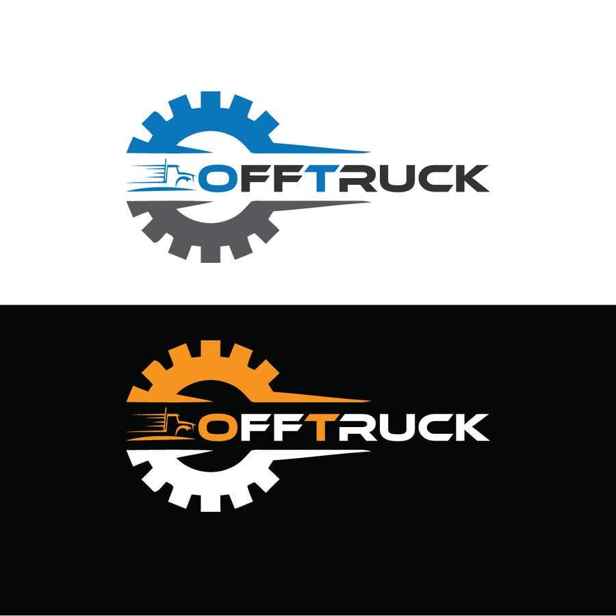 Kilpailutyö #                                        128                                      kilpailussa                                         New logo for OFFTRUCK