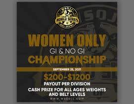 Nro 69 kilpailuun Women's Jiu-Jitsu Event Flyer Virginia and Maryland käyttäjältä printexpertbd