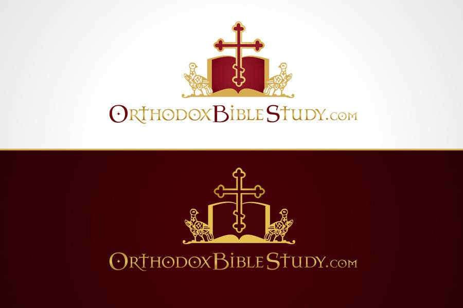 Конкурсная заявка №141 для Logo Design for OrthodoxBibleStudy.com
