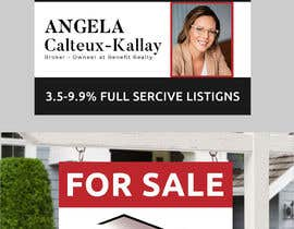#91 for Real Estate Sign Panel Design by becretive