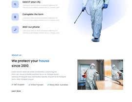 #25 for Landing Page for Pest Control Service (Design Only) af ciucacristi21