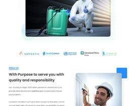 #49 for Landing Page for Pest Control Service (Design Only) af Nanbibip27